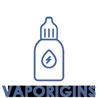 Vaporigins - e-liquids en aroma's voor elektronische sigaretten